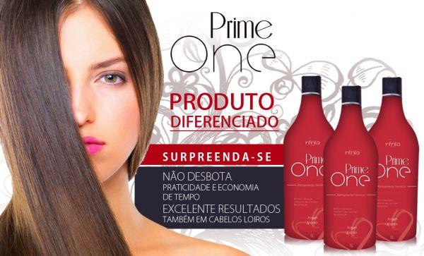 Escova Progressiva Prime One sem formol - cabelos lisos 100%